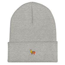 Load image into Gallery viewer, Alpaca Embroidered Beanie