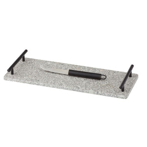 Urban Serving Tray & Knife Set