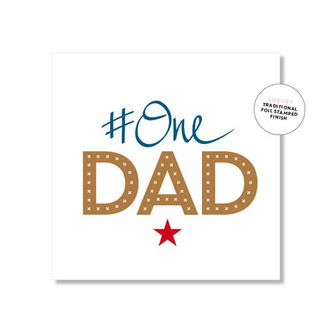 Just Smitten #One Dad Mini Card