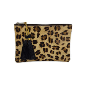 Juliet Animal Print Pouch