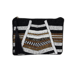 Grace Beaded Clutch