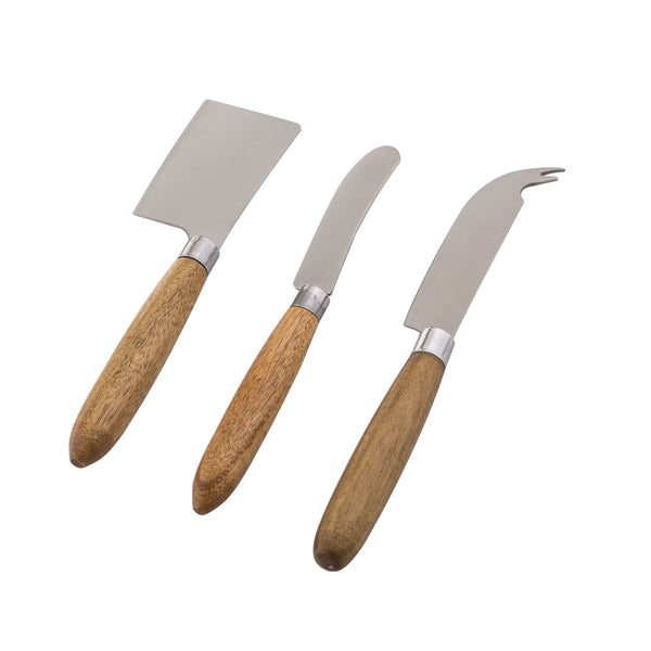 Boxed 3pc Cheese Knife Set