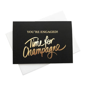 Just Smitten You're Engaged Foil Card