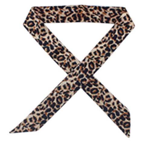 Animal Print Necktie
