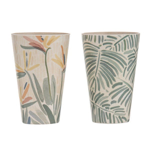 Alari Bamboo Fibre Tumbler Set of 2