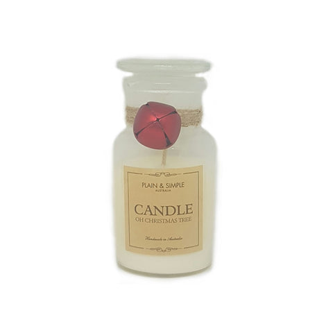 Plain & Simple Christmas Candle