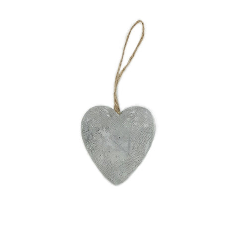Concrete Heart Decoration