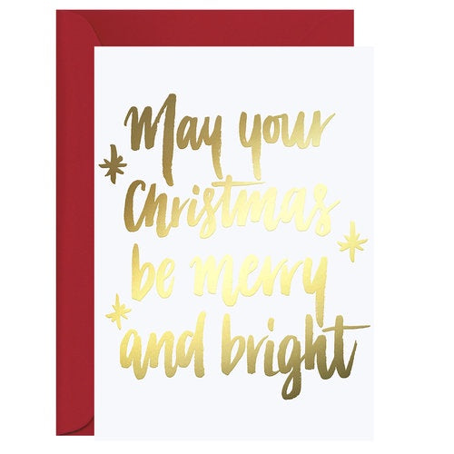 Galina Dixon Merry & Bright Christmas Card
