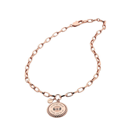 Liberte Belle Coin Pendant Necklace