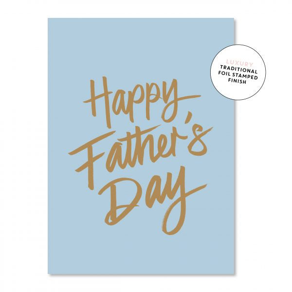 Just Smitten Father's Day Card