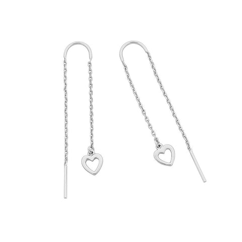 Liberte Maisie Heart Thread Earring