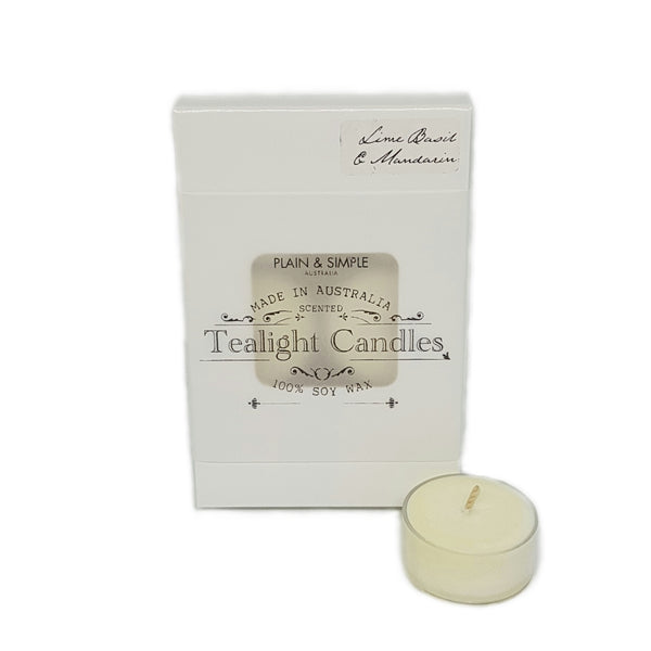 La Femme Scented Tealight Candles Pack of 6