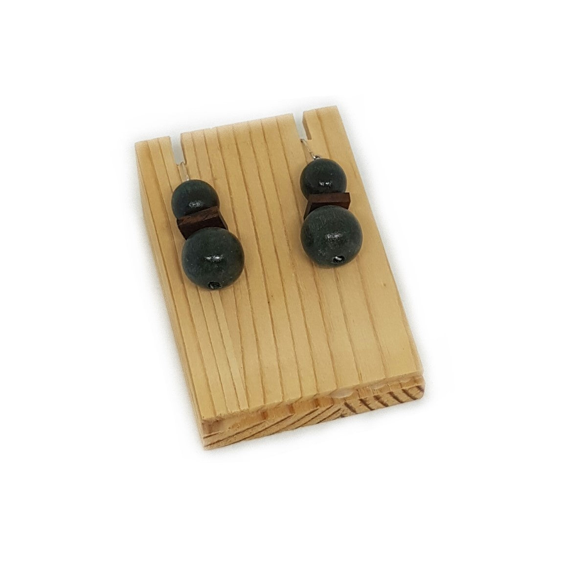 Wooden Earring Display