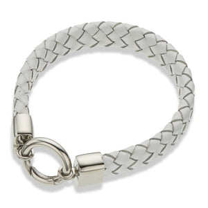 Palas Plaited Leather Bracelet