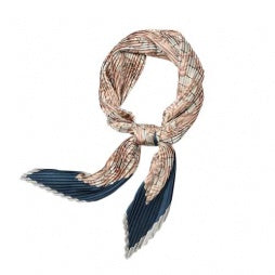 Florence Pleated Paisley Print Scarf