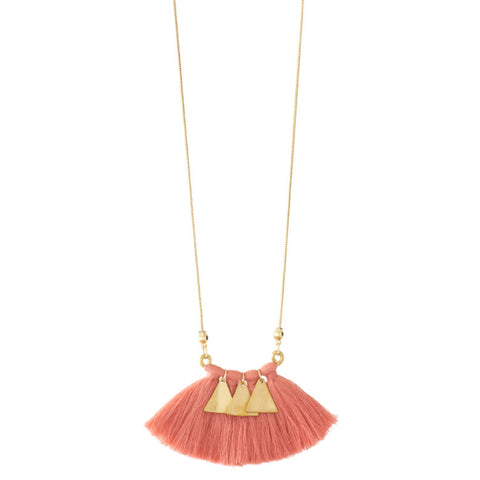 Harlyn Tassel Necklace
