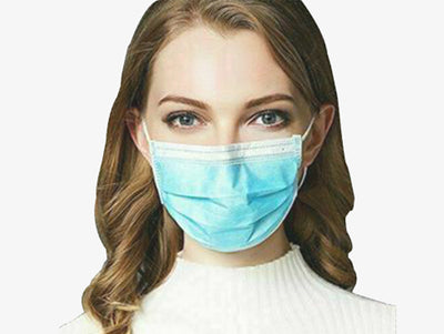 Disposable Medical 3-PLY Face Mask (250 Masks)