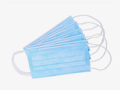 Disposable Medical 3-PLY Face Mask (50 Masks)