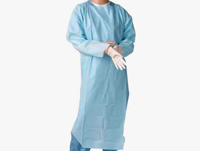 CPE ISOLATION GOWN (100 Masks)