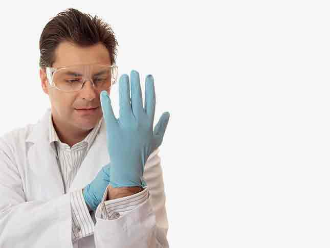 Nitrile Examination Gloves (250 Gloves)