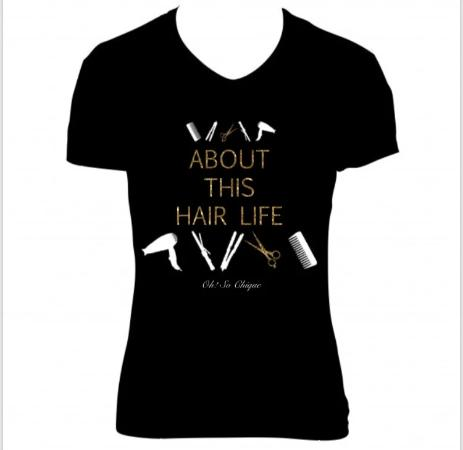 About This Hair Life Tee