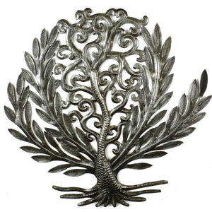 14 inch Tree of Life Laurel Leaf - Croix des Bouquets - Simply Handmade