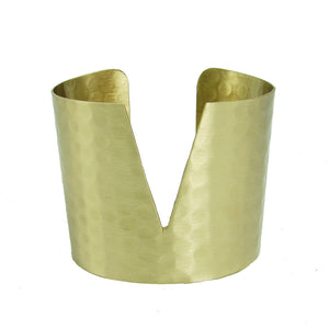 Triangular Cuff - Gold - WorldFinds - Simply Handmade