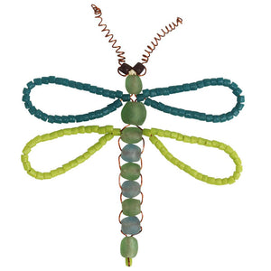 Dragonfly Bead Ornament - Global Mamas (H) - Simply Handmade