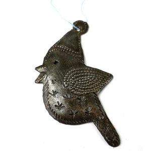 Robin Design Steel Drum Ornament - Croix des Bouquets (H) - Simply Handmade