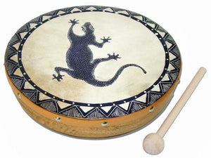Frame Drum Gecko - Jamtown World Instruments - Simply Handmade