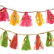 Upcycled Sari 8-foot Party Tassel Garland - Matr Boomie (H) - Simply Handmade
