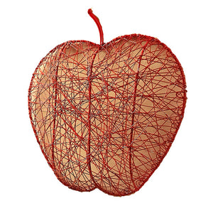Red Wire Apple Fruit Bowl - Mira (Bowl) - Simply Handmade