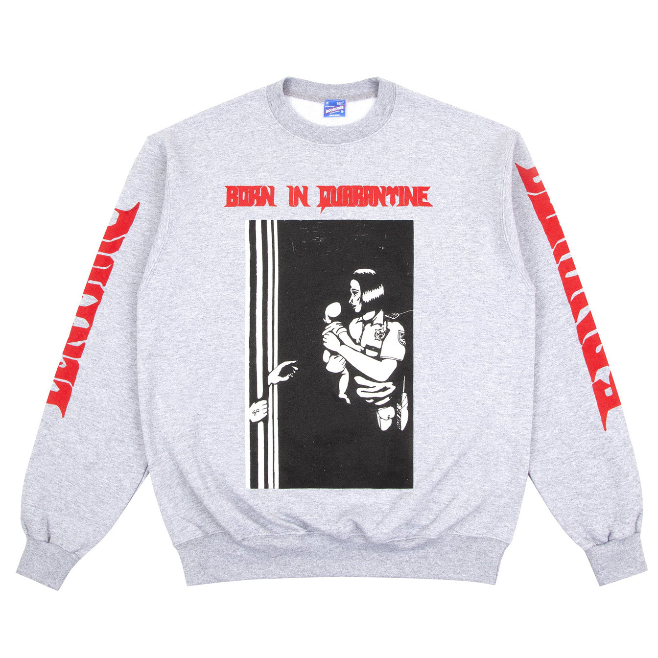 Born in Quarantine Sweatshirt (Heather Grey)