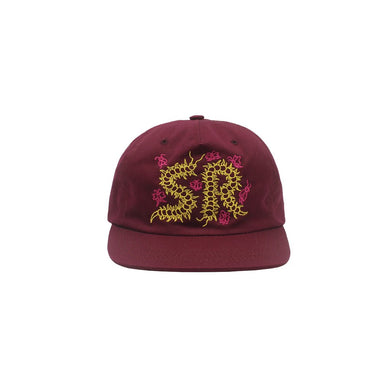 Caterpillar Snapback (Burgundy)