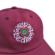 Load image into Gallery viewer, Target Hat (Burgundy)