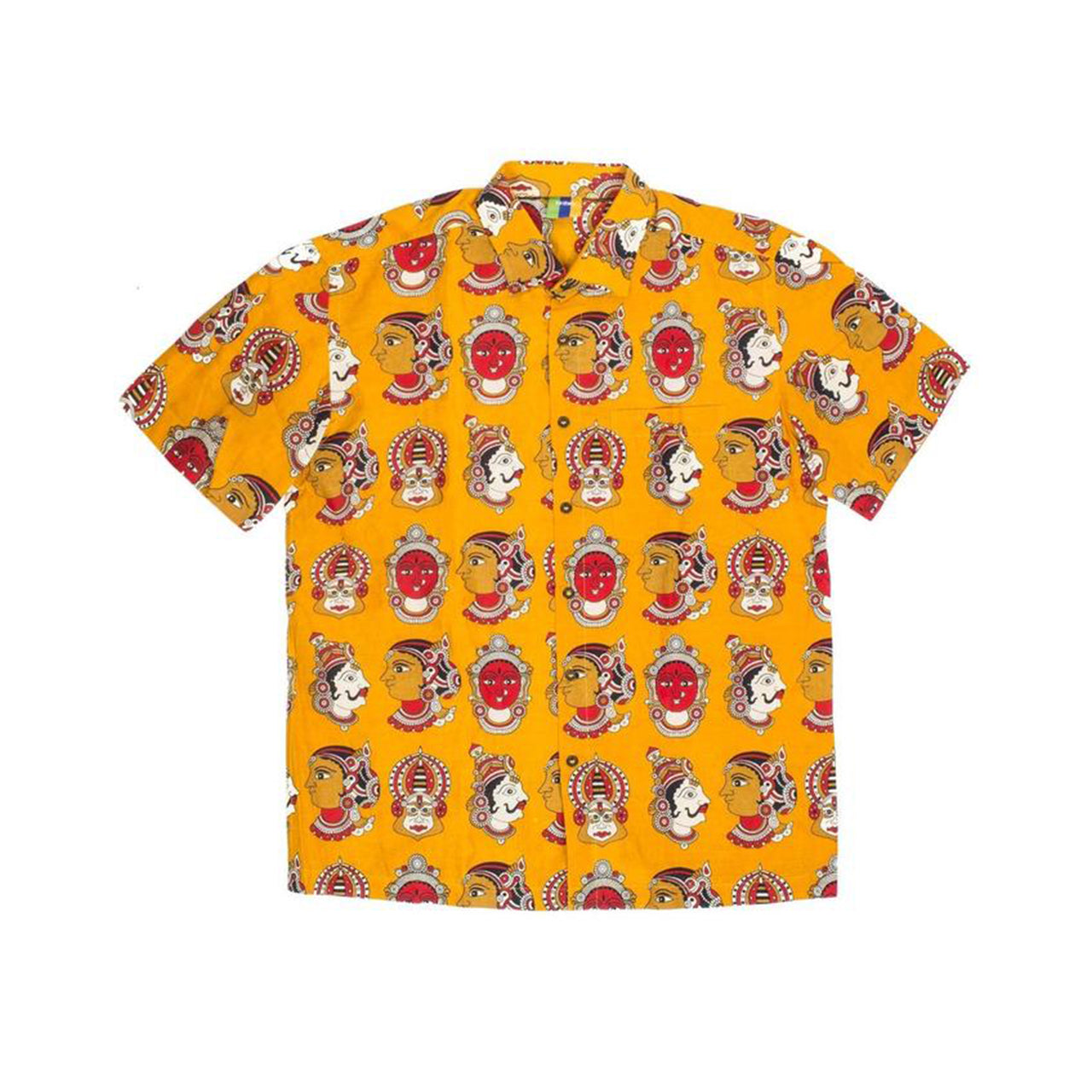 Divine Button Up (Mustard)