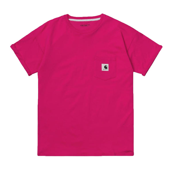 Women's Carrie Pocket T-Shirt (Ruby Pink)