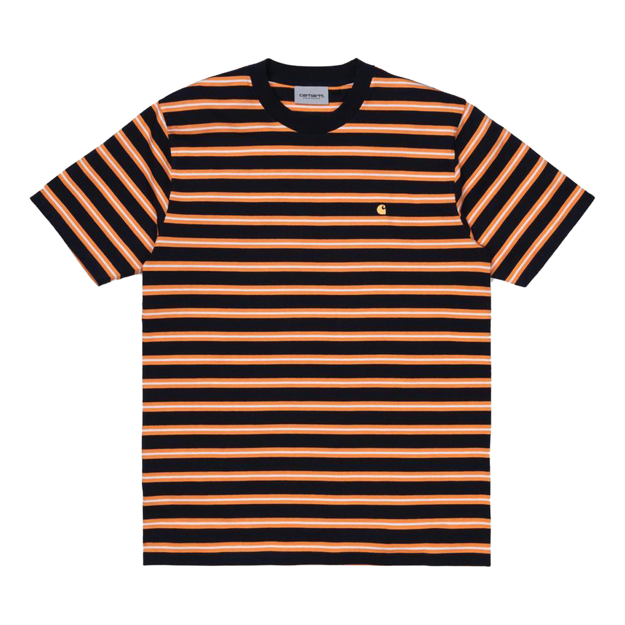 Oakland Stripe T-Shirt (Dark Navy)