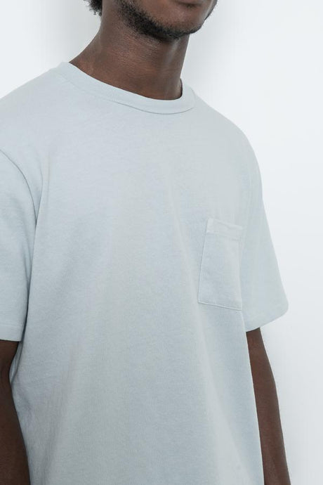 SS Pocket Tee - Ice Grey