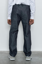 Load image into Gallery viewer, Trousers Raw Blue Denim