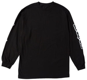 Techno Longsleeve (Black)