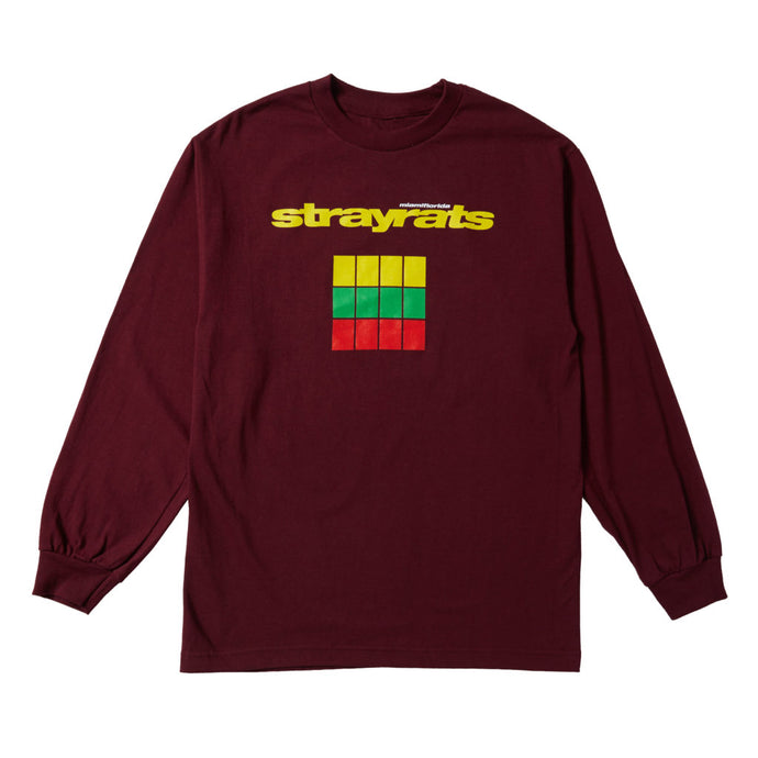 Reasons Longsleeve (Maroon)