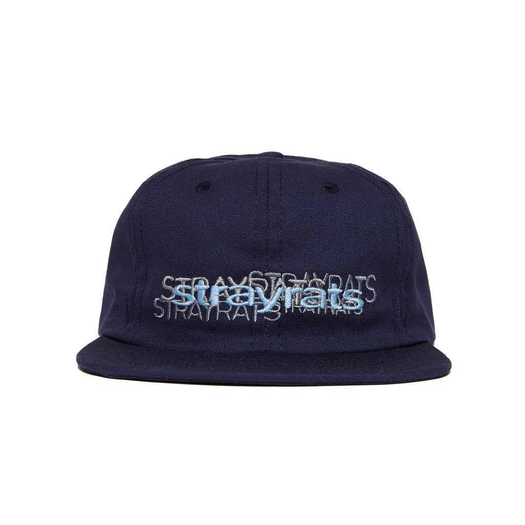 Repeat Logo Snapback Hat (Navy)