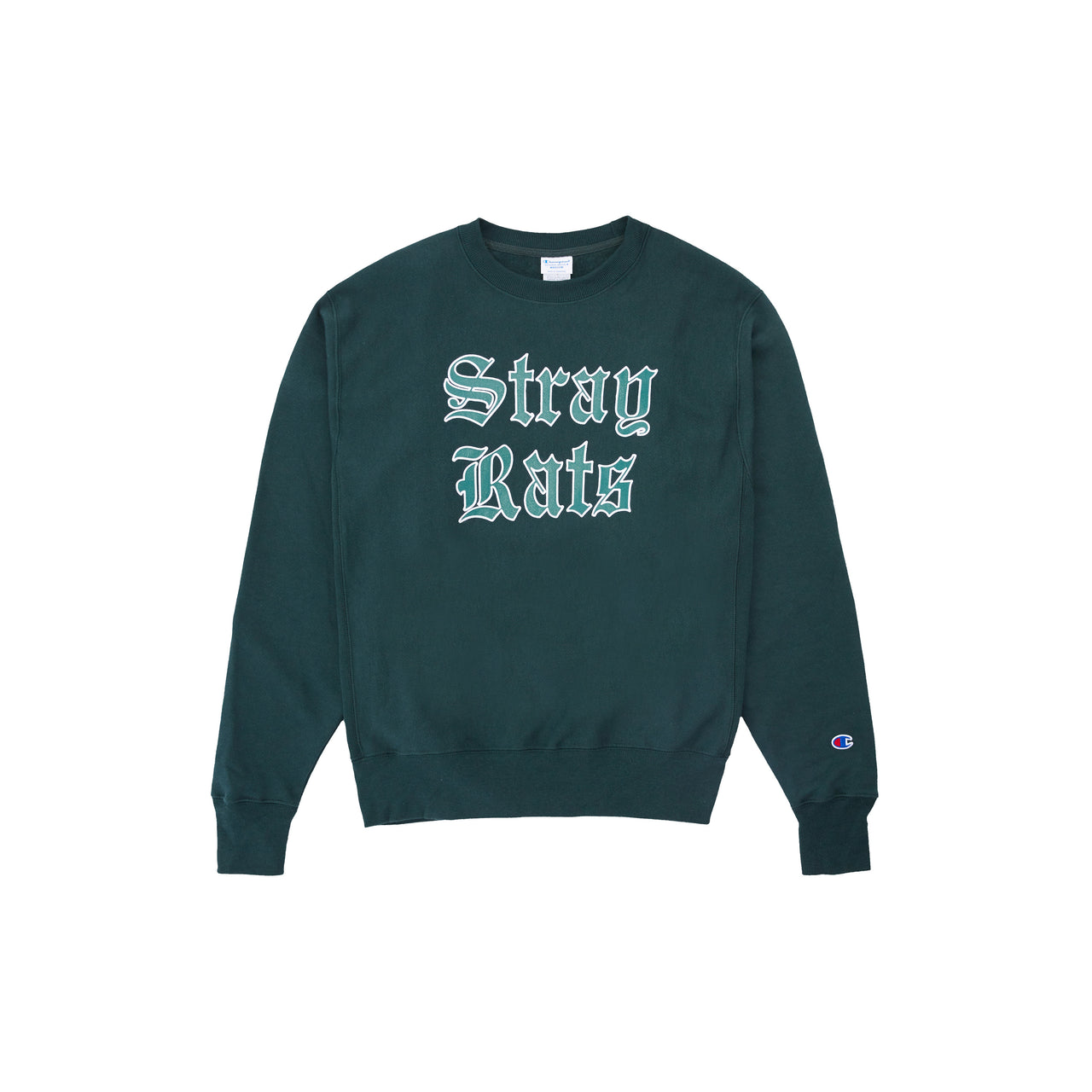 Old English Crewneck (Dark Green)