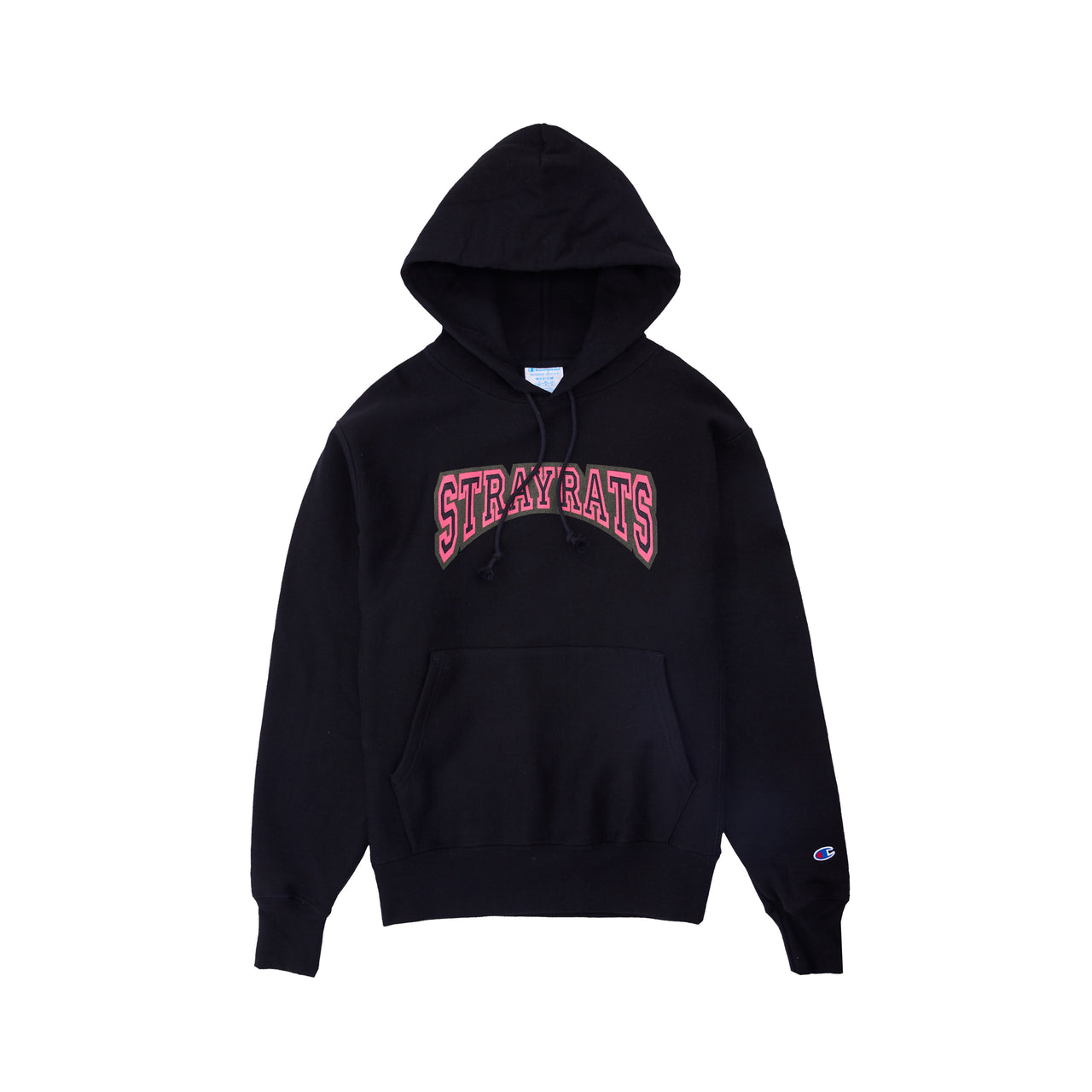 College Arch Hoodie (Black)