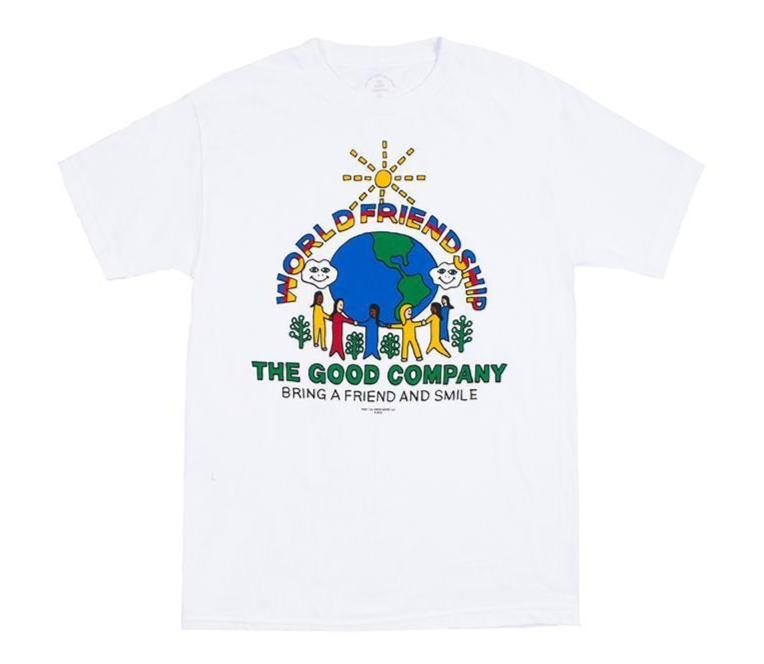 World Friendship Tee (White)