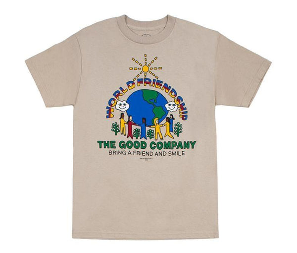 World Friendship Tee (Sand)
