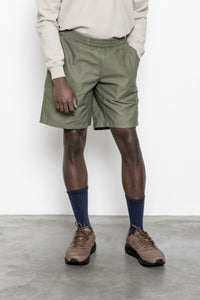Shorts - Olive Sateen