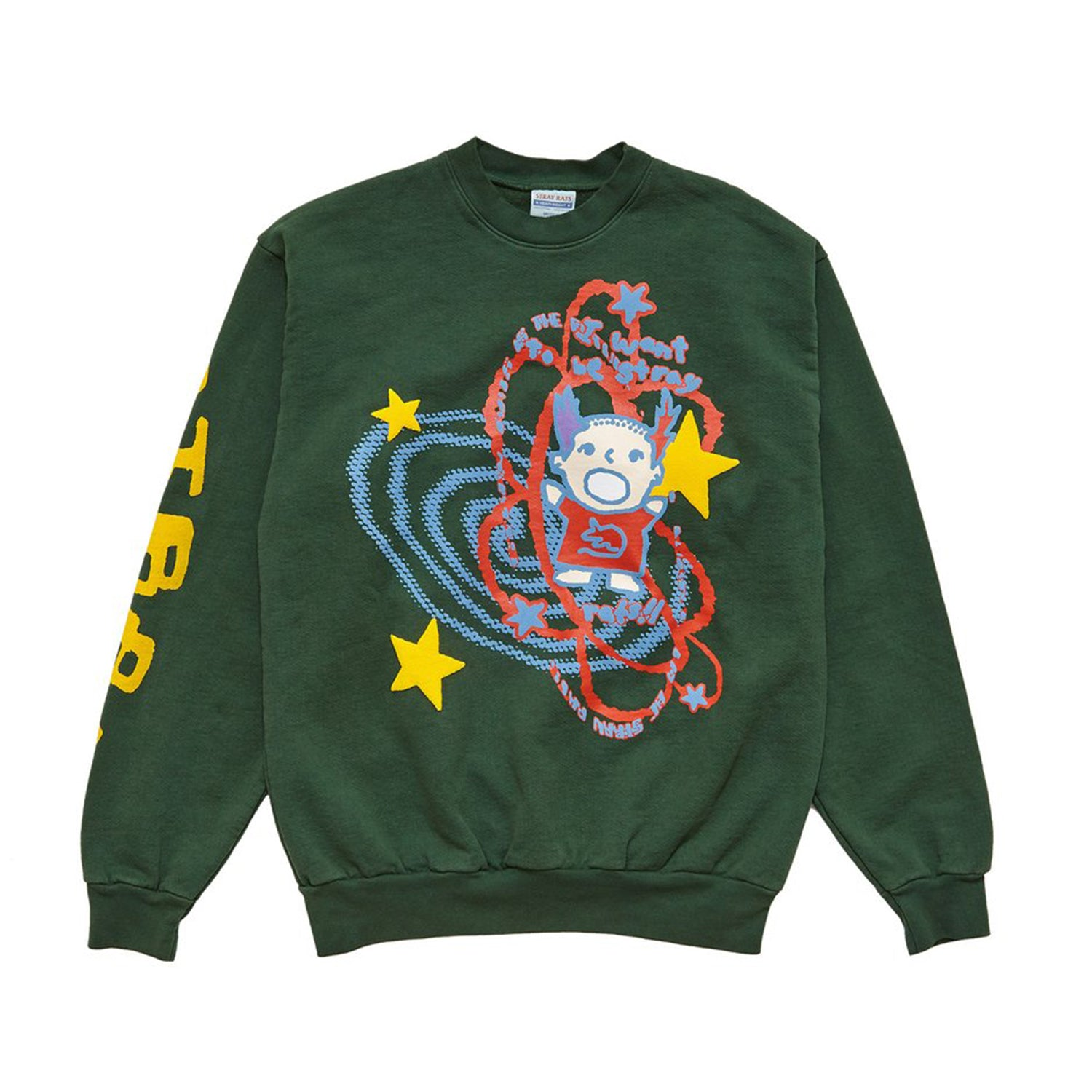 Star Kid Sweatshirt (Dark Green)