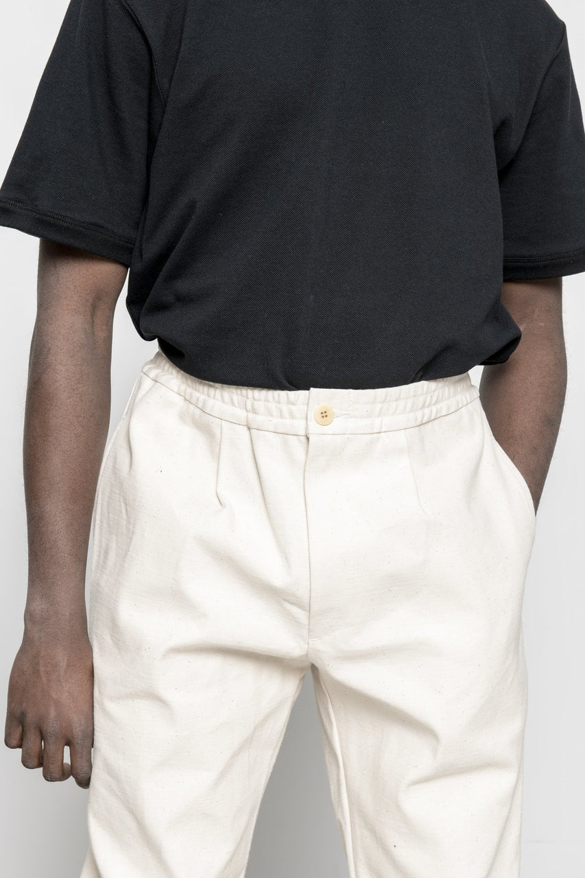 Trousers - Natural Canvas